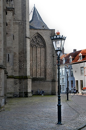 square in the old town of