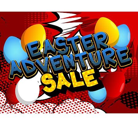 easter adventure sale comic book