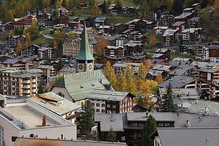 zermatt in autumn