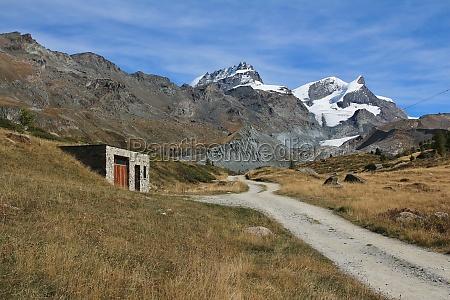 mountain landscape in zermatt