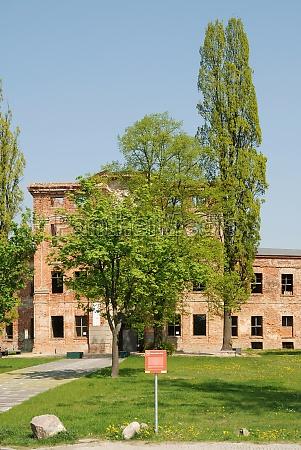 castle ruins in dahmemark germany