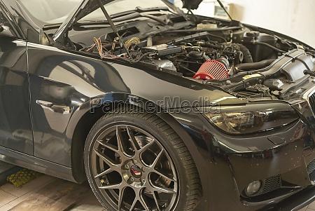 car tuning engine