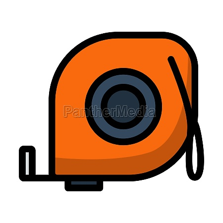 icon of constriction tape measure