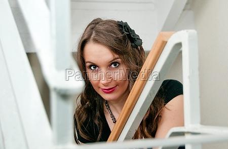 portrait of a bauty woman in