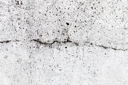 crack on cement floor