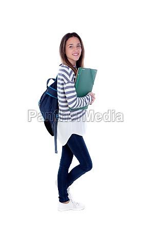teenager student girl