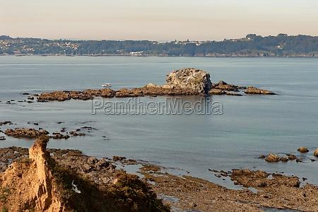 islet on the coast of spain