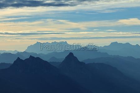 sunrise mountain peak dawn mythen mountain