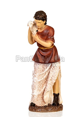 figure of the shepherd with a