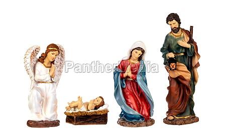 scene of the nativity
