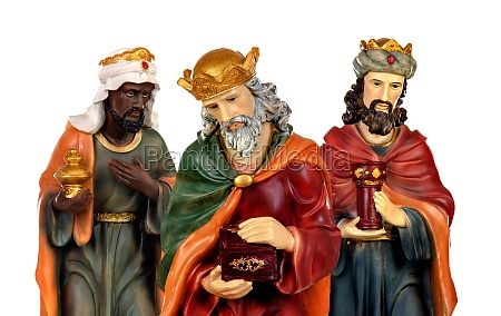 the three wise men and baby