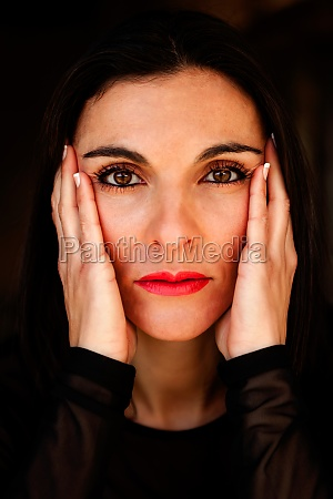 portrait of a maturity woman with