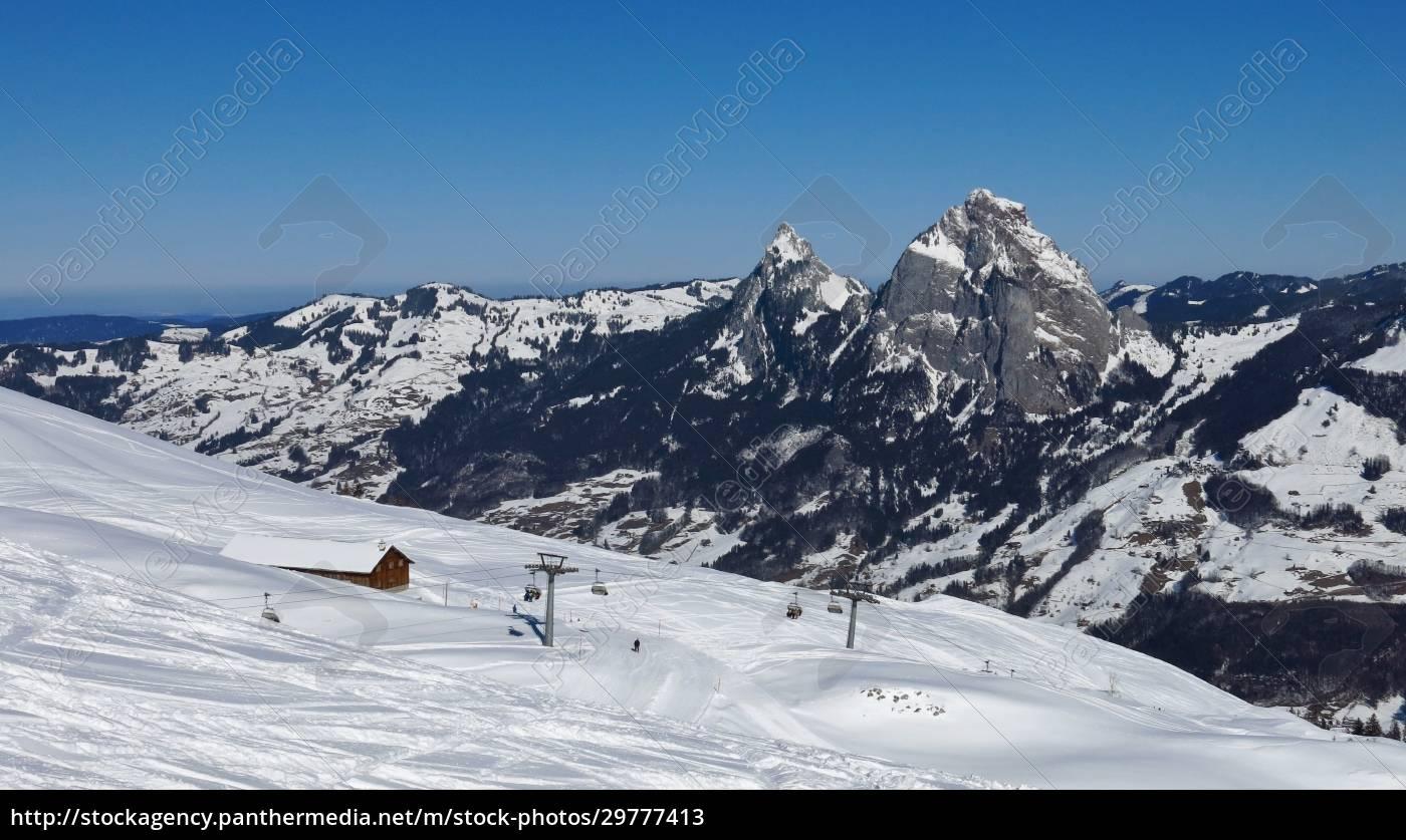 mythen, and, ski, area, stoos - 29777413
