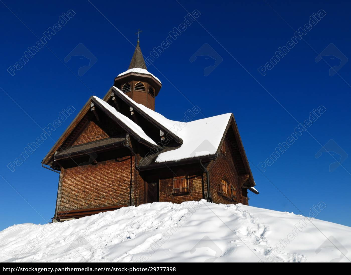 old, timber, chapel, in, stoos, , switzerland - 29777398