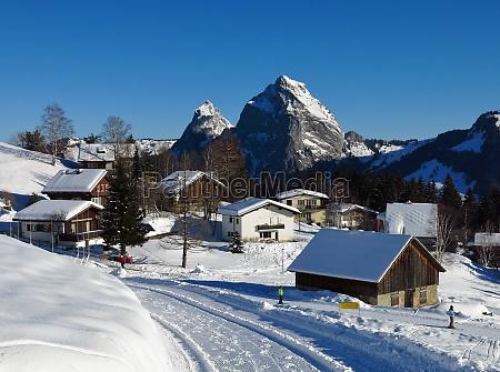 winter, morning, in, stoos - 29777396
