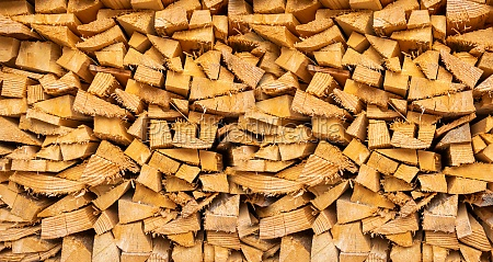 wood pile background texture horizontal banner