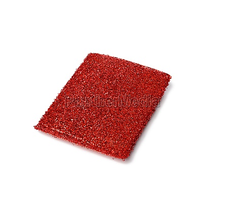 new red metal sponge for washing