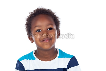 african child laughing