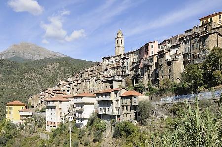 castel vittorio village liguria
