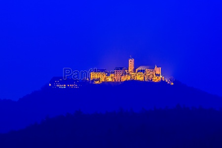 the wartburg castle in thuringia germany