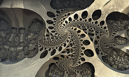 three dimensional fractal