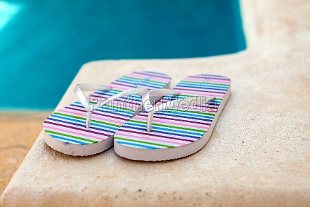 color flip flops
