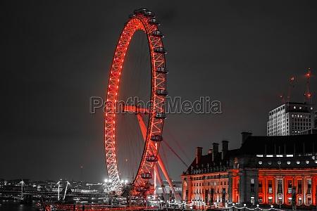 london eye london ferris wheel