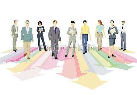 step forward together direction together