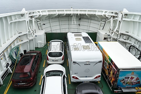 car ferry in norway