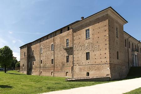 visconteo castle east side voghera italy