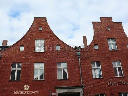 gable in the dutch quarter of