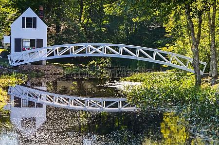 somesville bridge maine new england united
