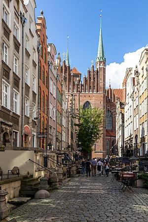 mariacka street the main shopping street