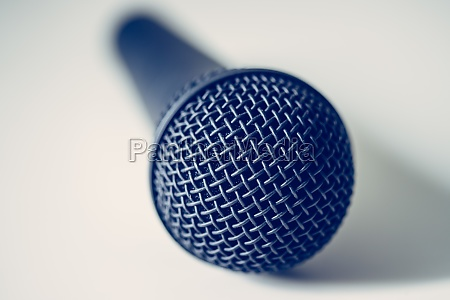 microphone with white background