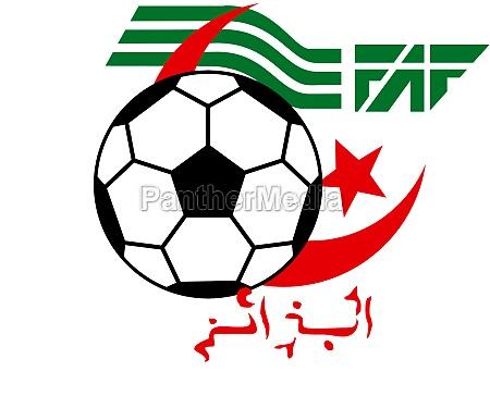 logo of the algerian national football