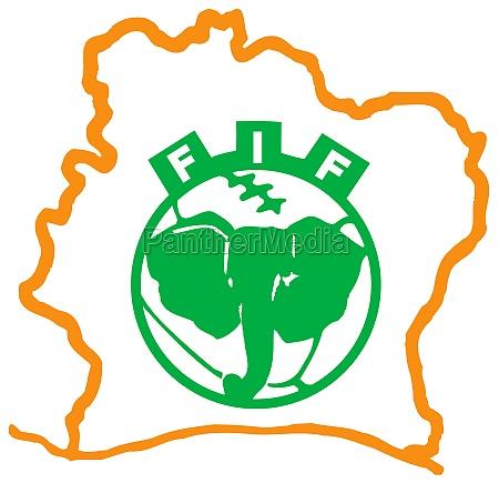 logo of the national football team