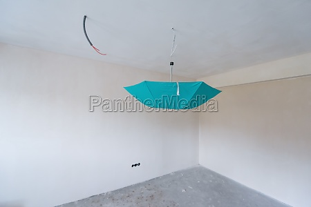 interior of room with drywall