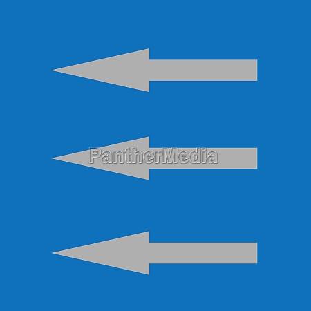 three arrows