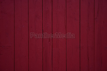 tradidional wooden wall of a red