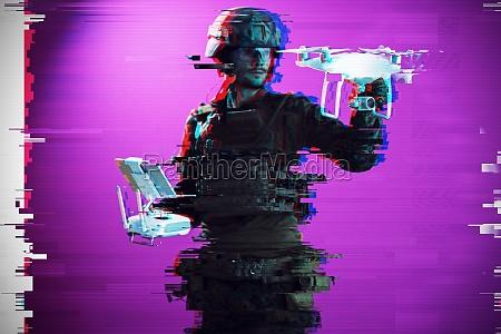 soldier drone technician glitch