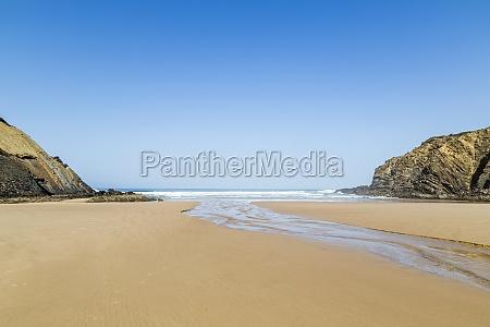 beach praia do carvalhal alentejo portugal