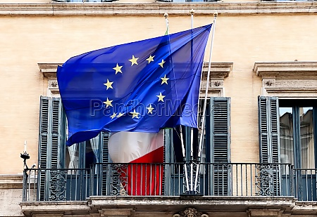 the flag of the european community