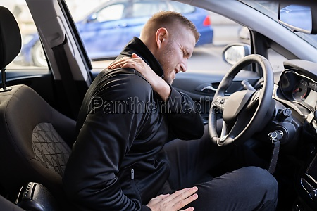 car driver back pain injury