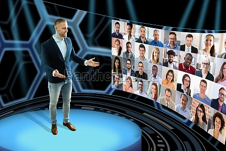 virtual event conference or convention