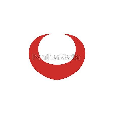 devil horn vector icon
