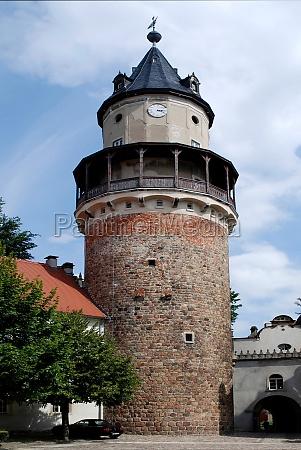 castle wiesenburg in brandenburg germany