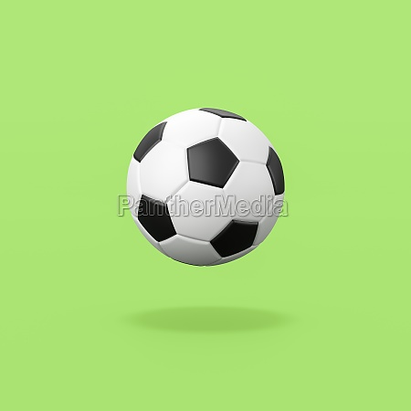 classic black and white soccer ball