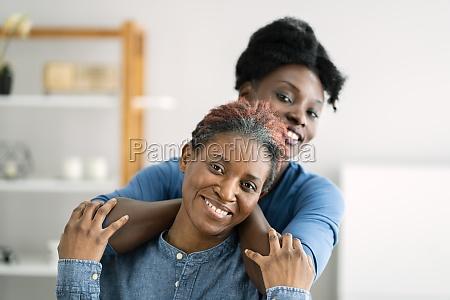 african teen support