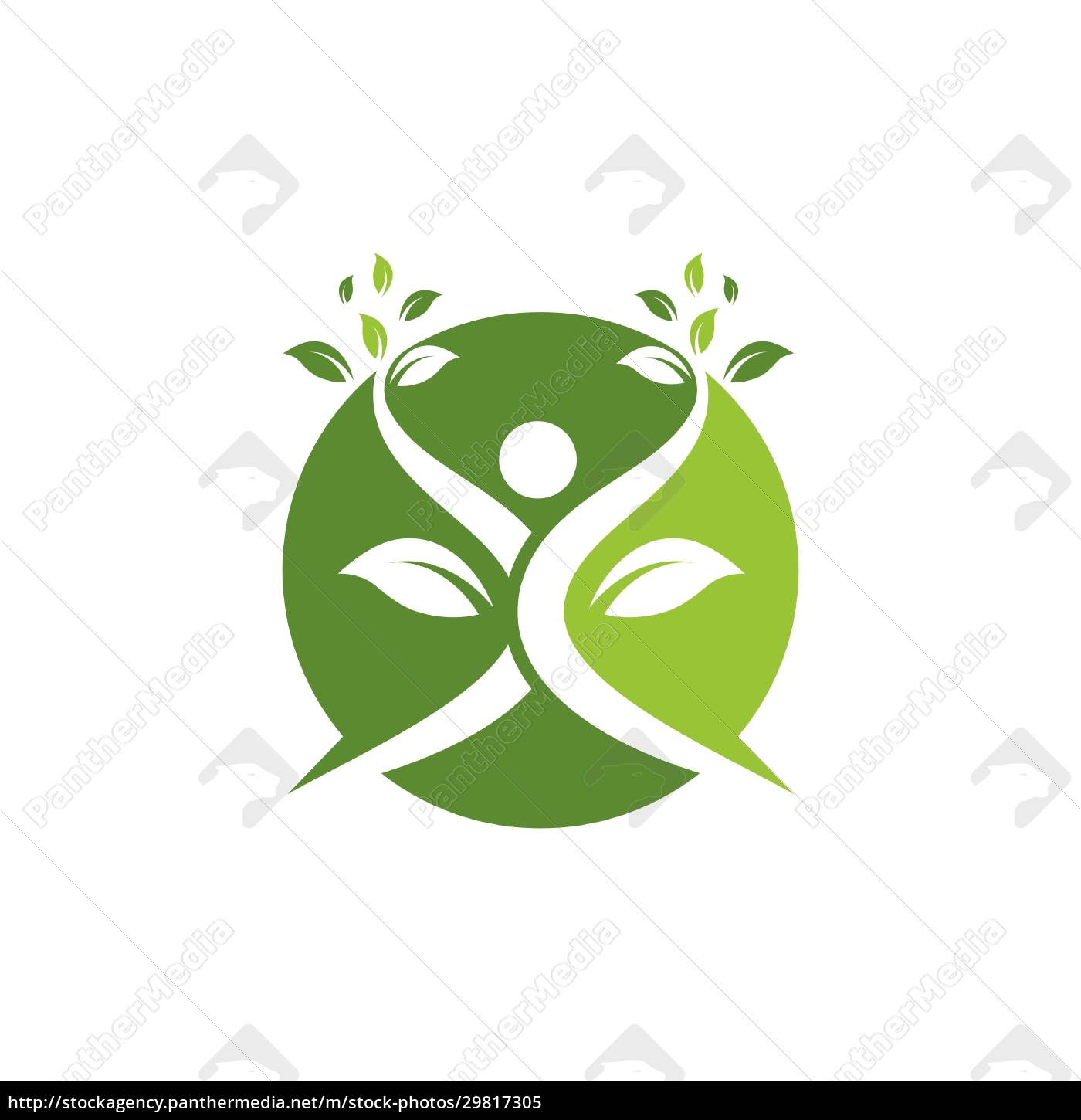 healthy, life, people, , logo, template - 29817305