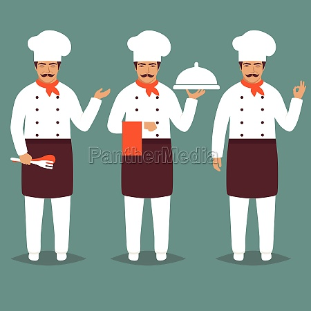 cartoon chief cook